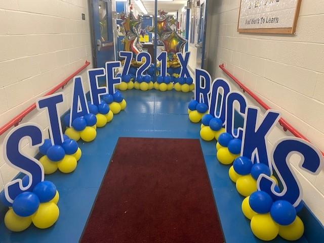 721x Staff Rocks Sign