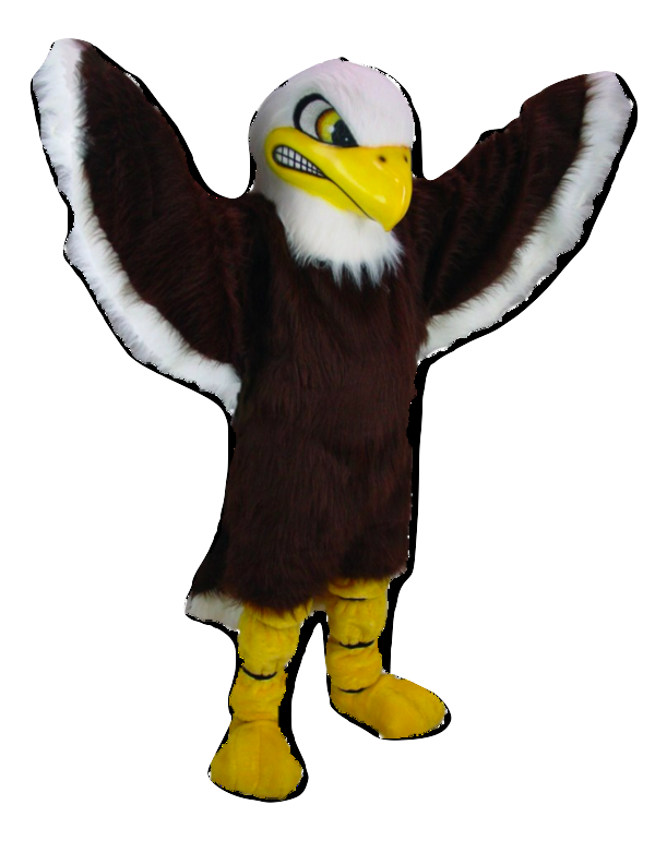 Elvis the Eagle macot