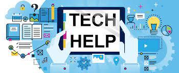 tech help sign
