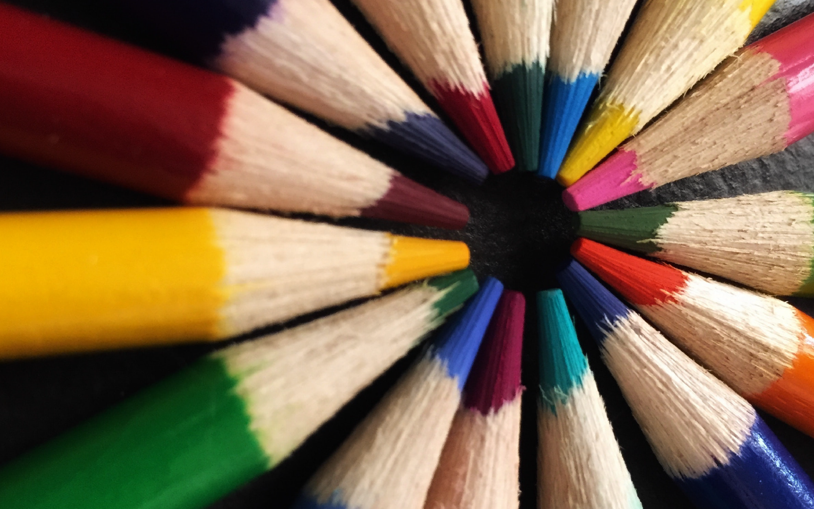 Student Educational Resources: colored pencils