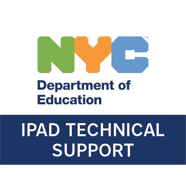 NYC DOE iPad Technical Support