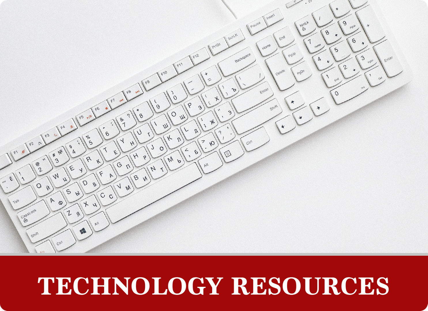 Technology Resources: Keyboard
