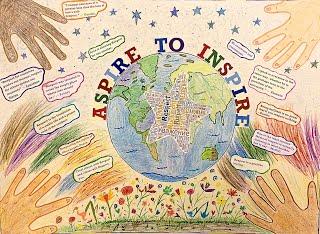 Respect for All artwork by Kristoff, Grade 6