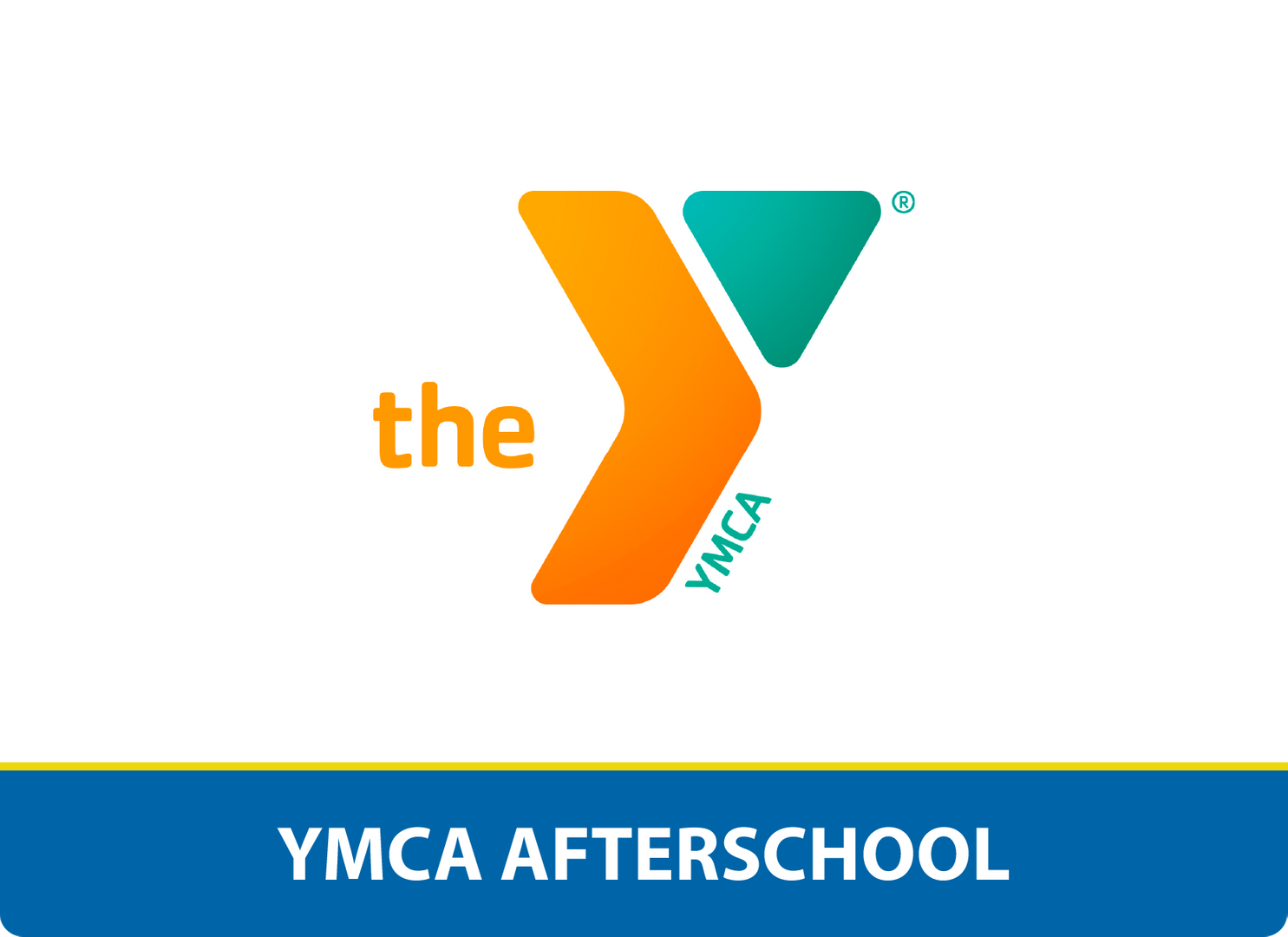 YMCA Afterschool: The YMCA logo