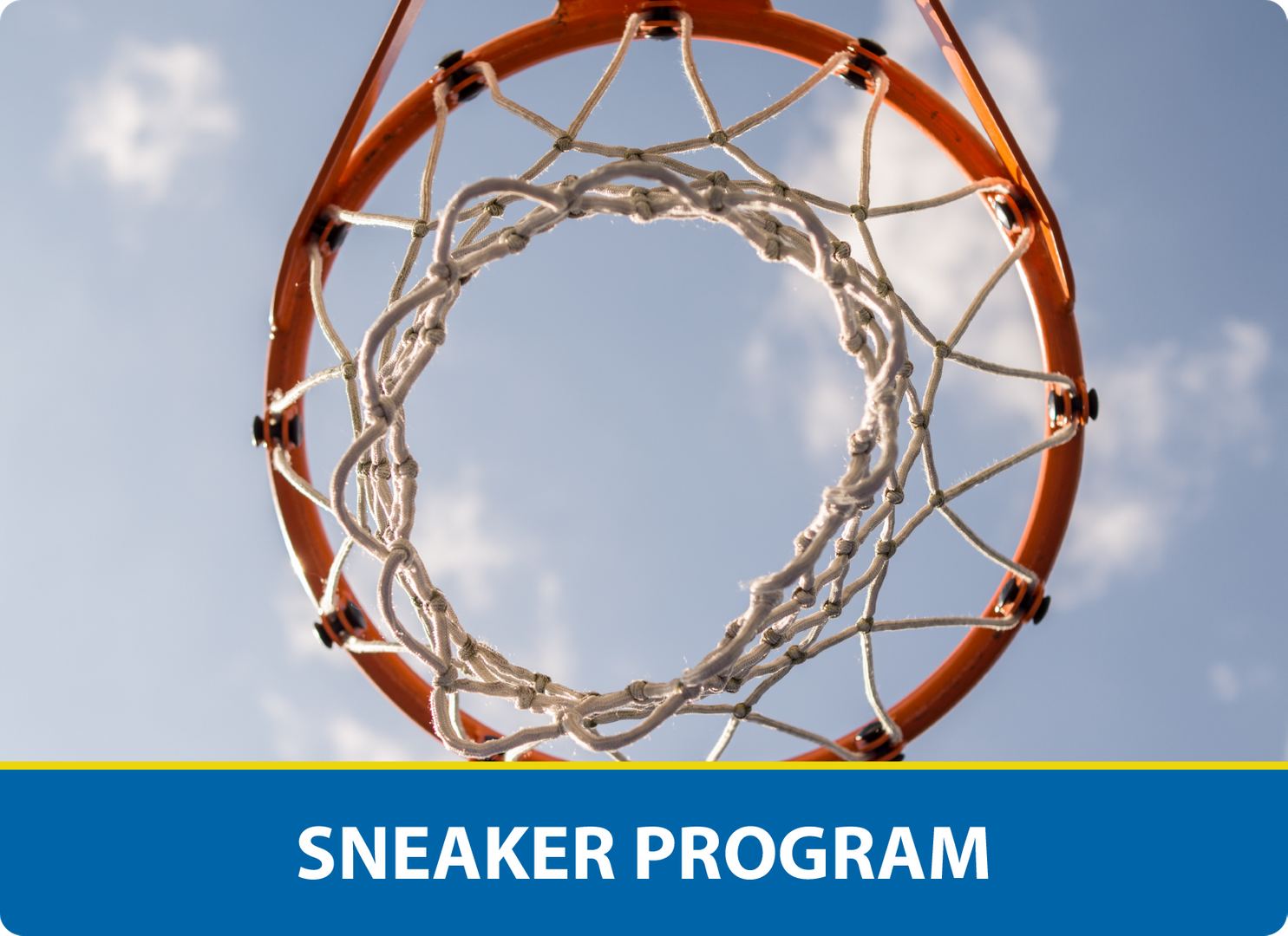 Sneaker Program: Basketball hoop