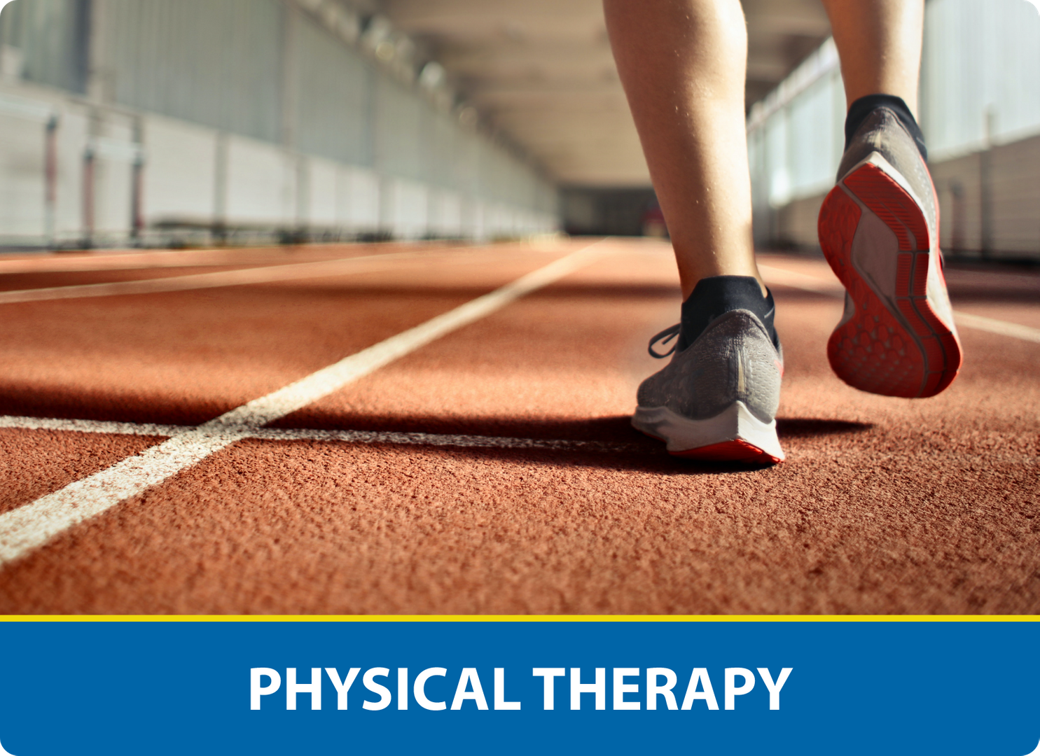 Physical Therapy: Shoes mid-run