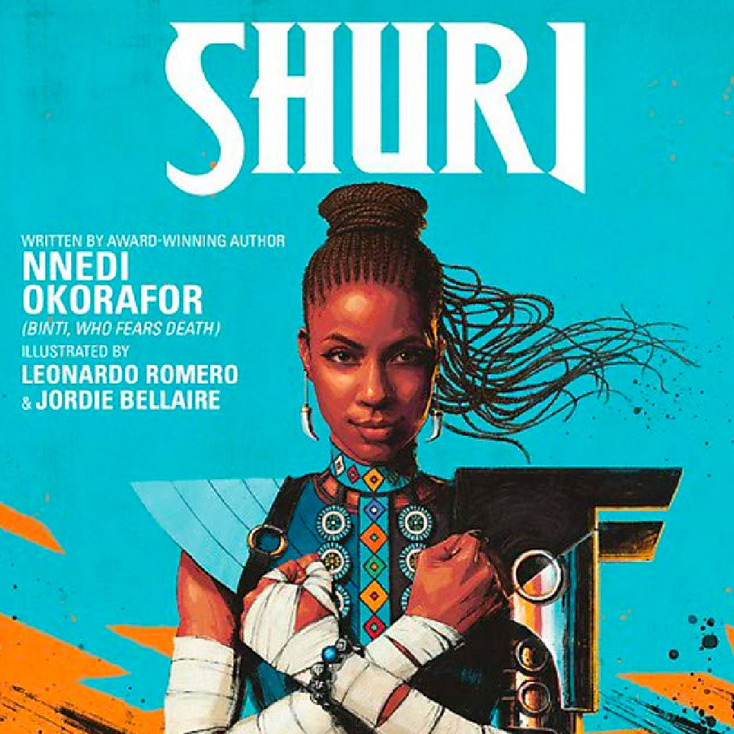 Shuri: The Search for Black Panther cover
