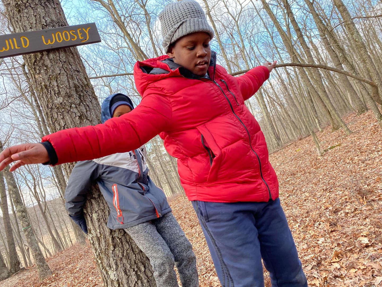 students enjoying outdoor activities