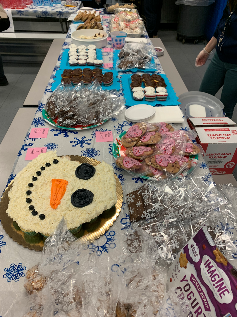 Treats at PTA Winter Wonderland 2019 Event