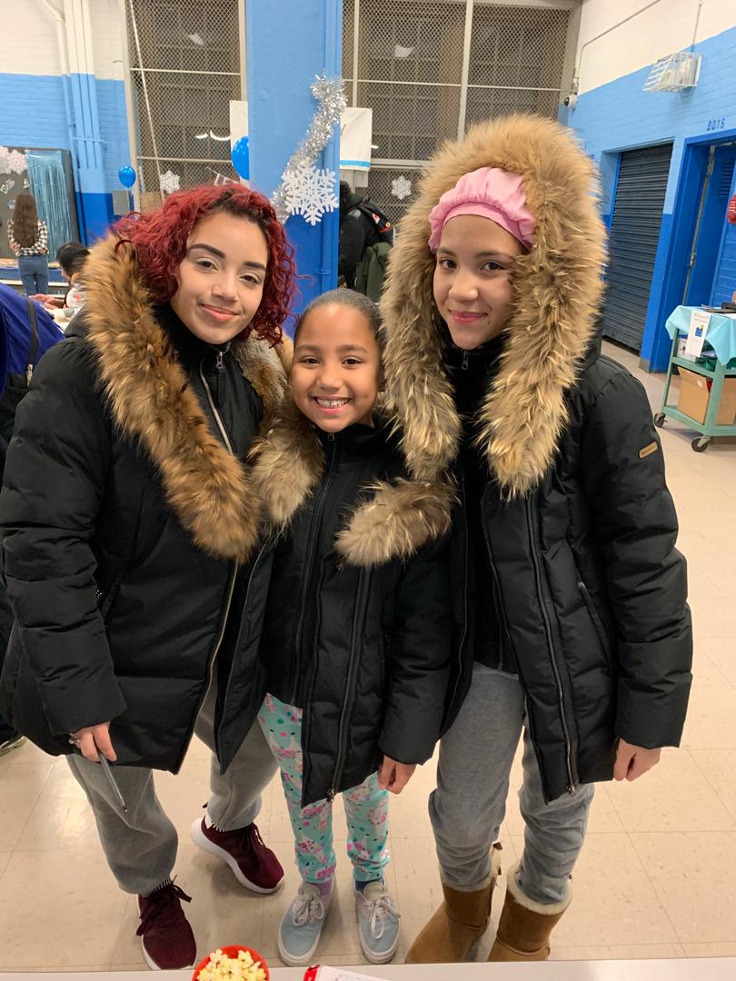 Family enjoys PTA Winter Wonderland 2019 Event