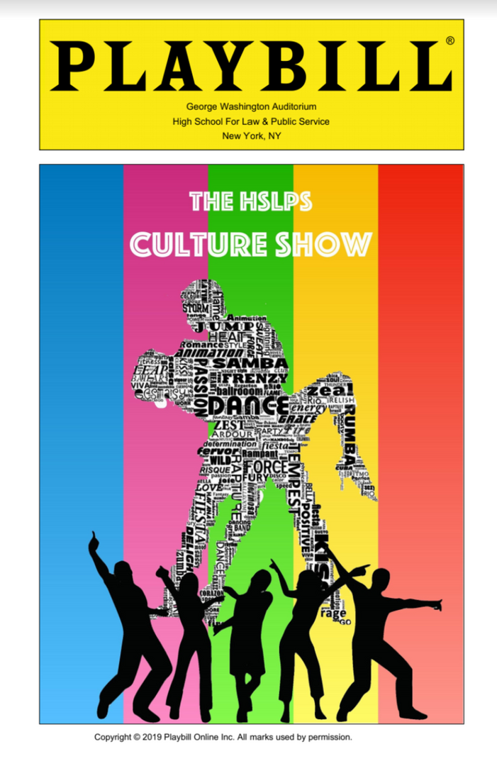 The HSLPS Culture Show Playbill