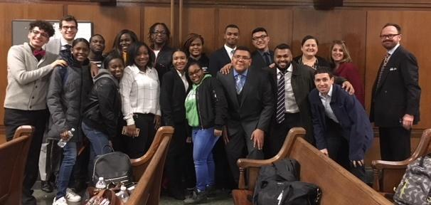 The 2018 Mock Trial Team