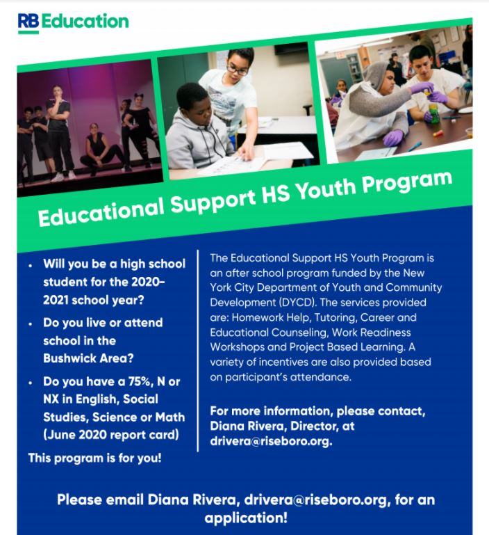 Educational Support Flyer