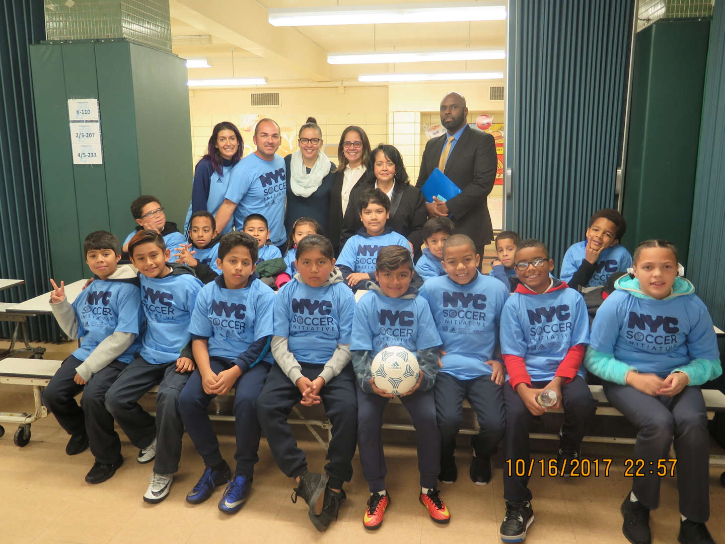 The PS83M soccer team