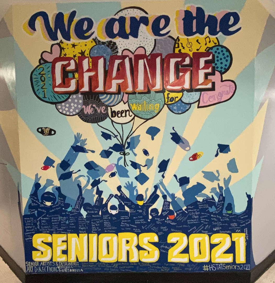 Senior Mural 2021