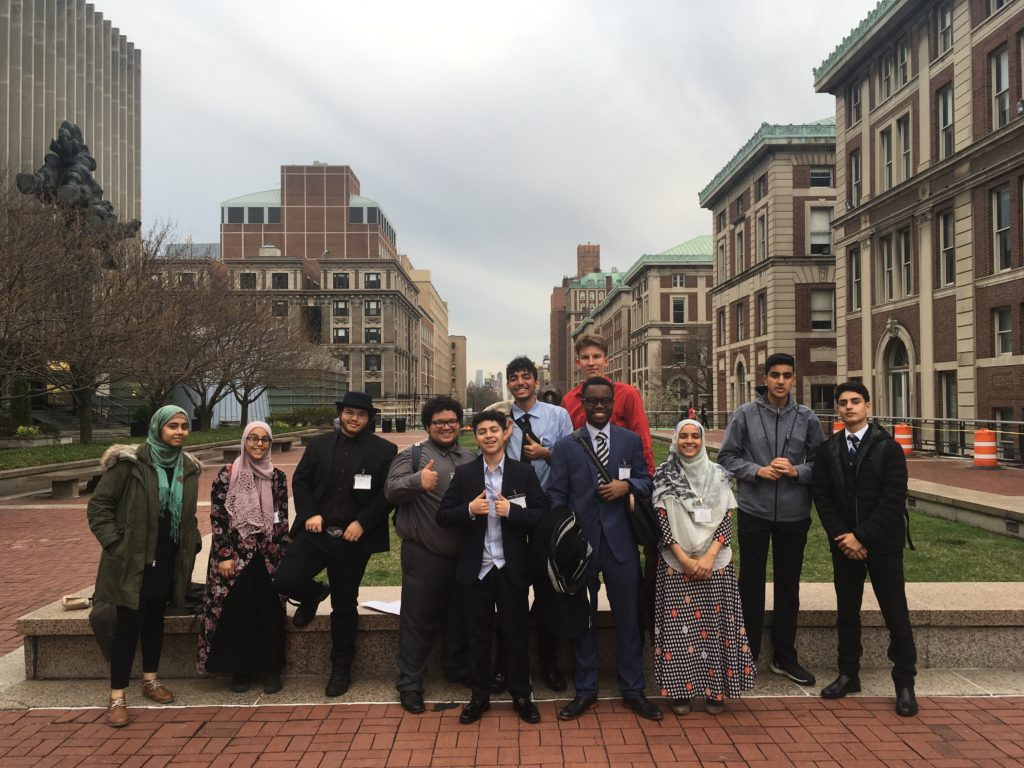 Model UN on Columbia University's campus