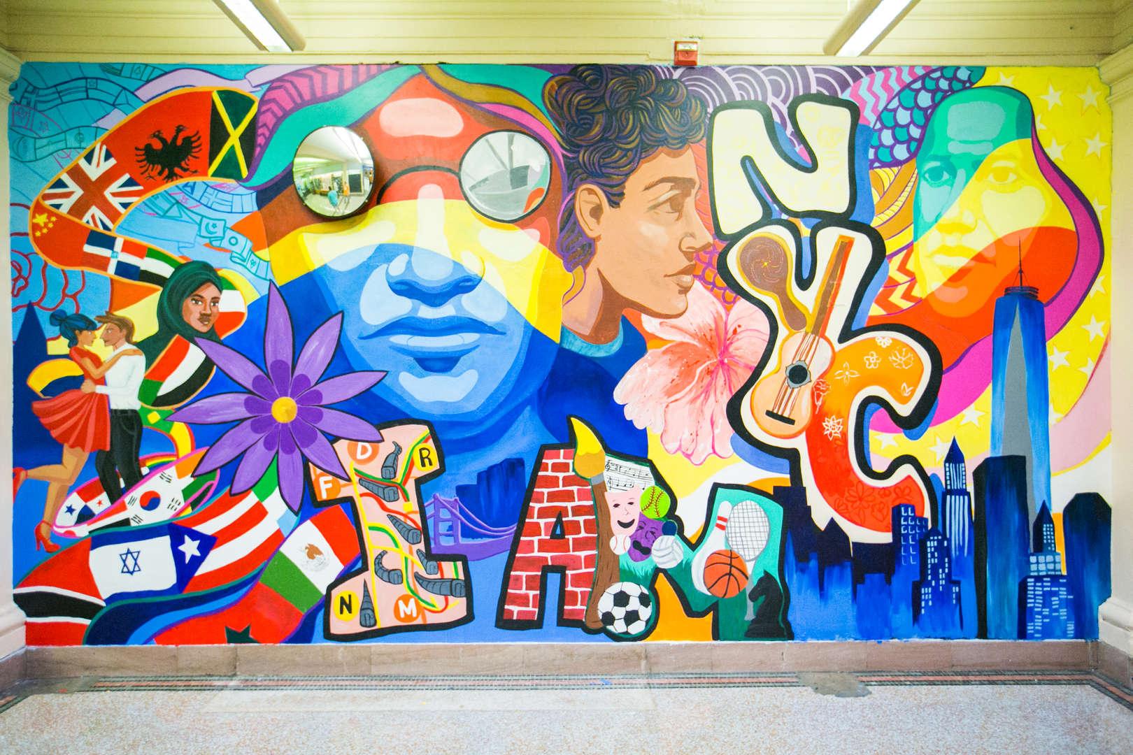 HSTAT Mural