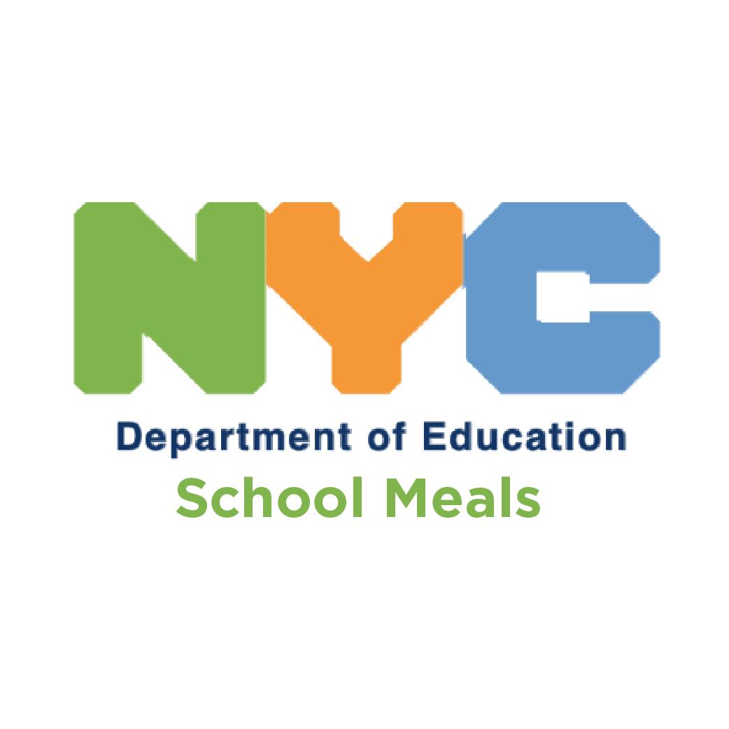 NYC DOE School Meals button