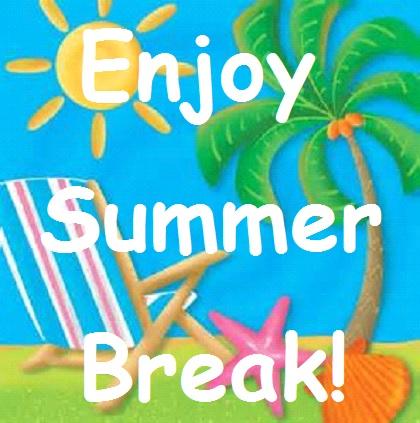 summer break logo