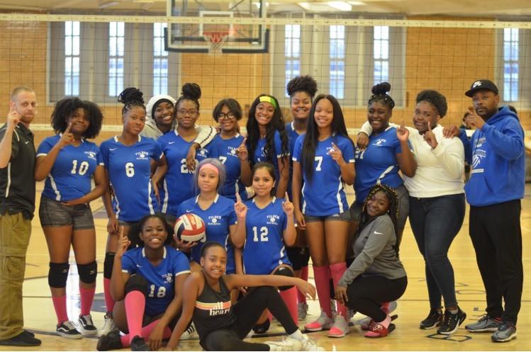 Girls volleyball team