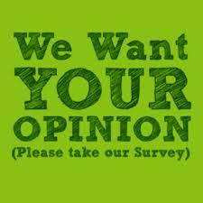 take the survey logo