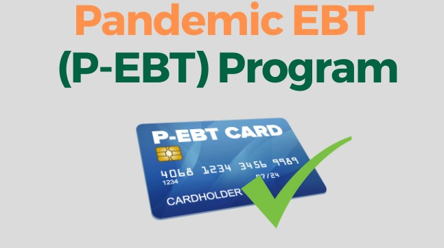 Decorative picture of an EBT card