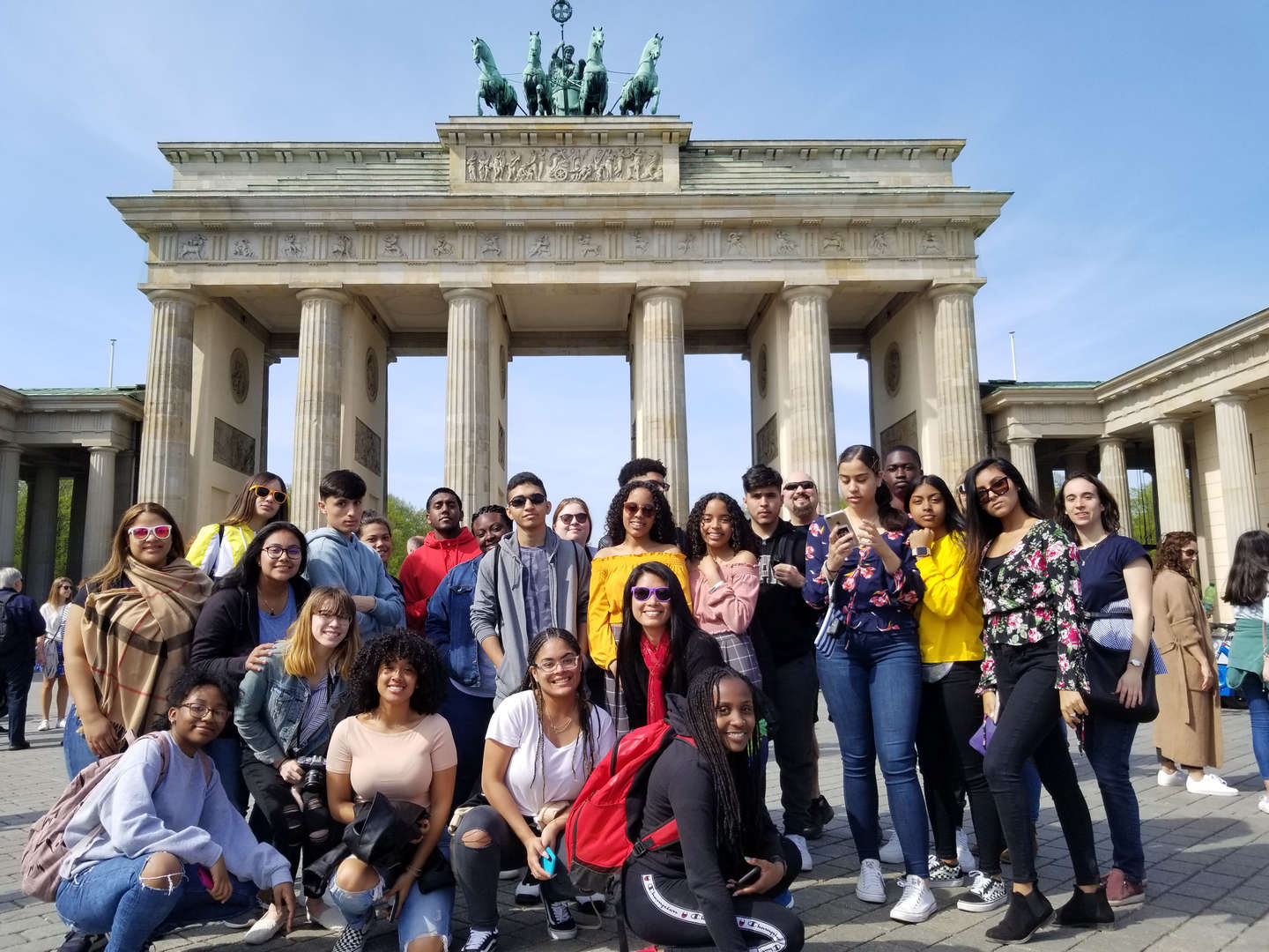 Students on trip to Germany