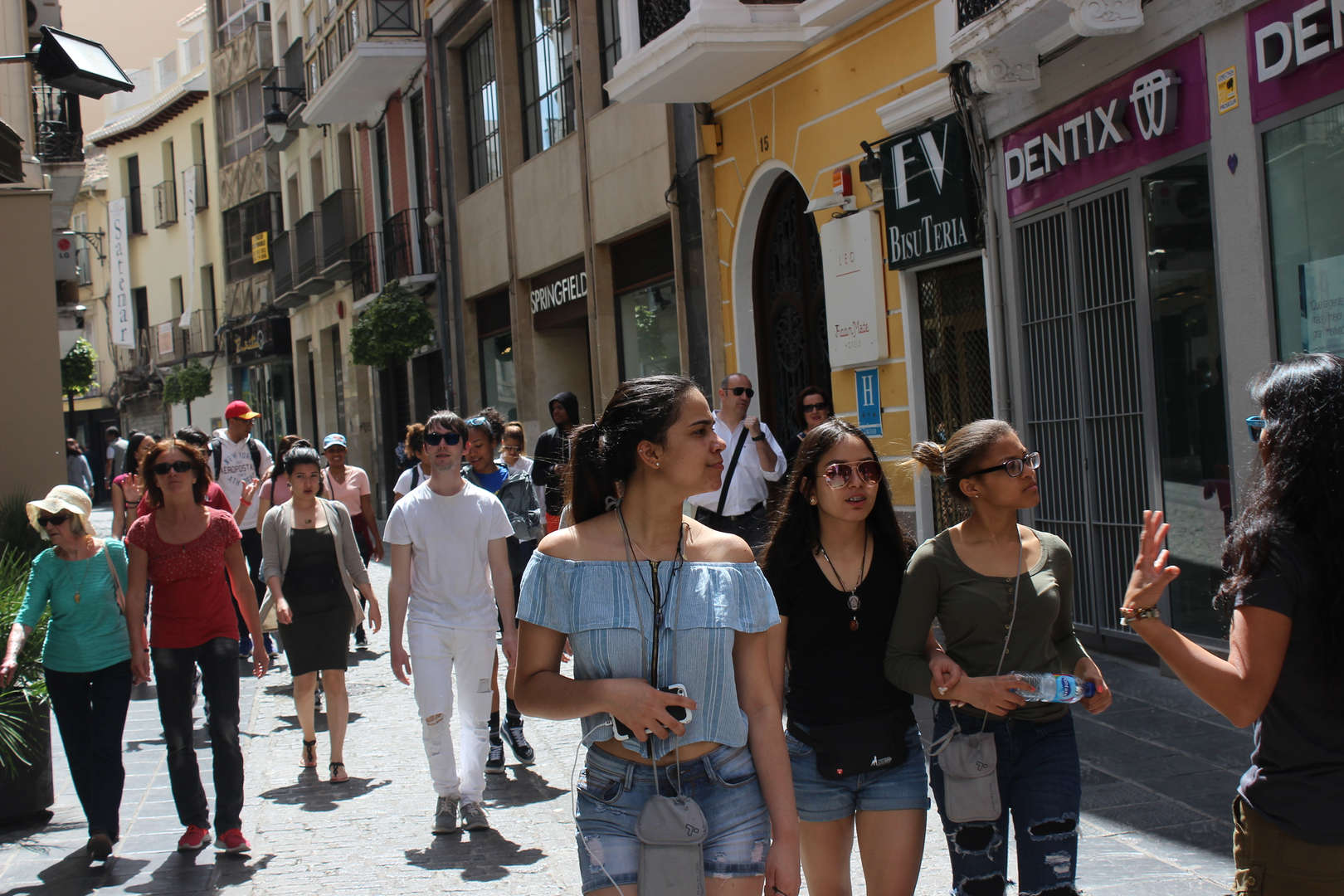Students on trip to Spain