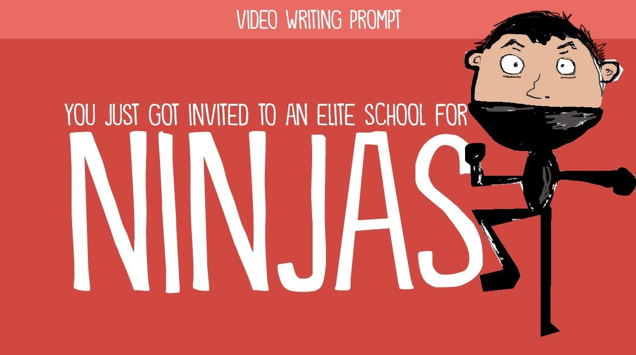 Prompt: You just got invited to an elite school for ninjas