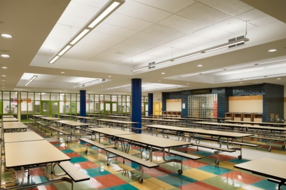 P.S. 102Q cafeteria