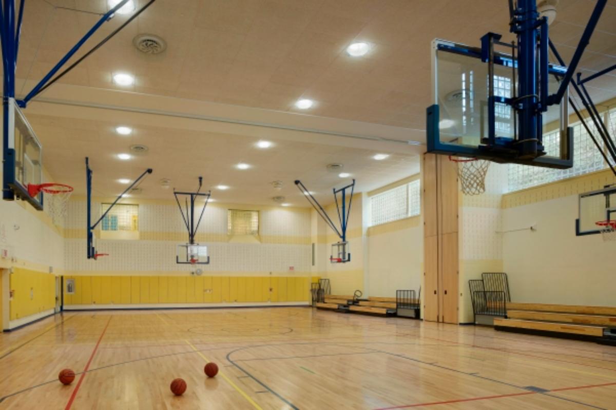 P.S. 102Q gymnasium