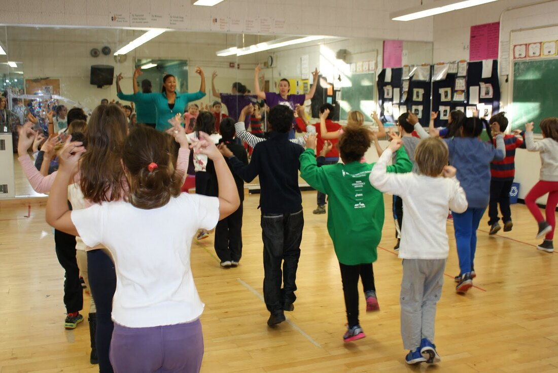 National Dance Institute During Dance Class