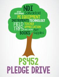 PS 452 Pledge Drive