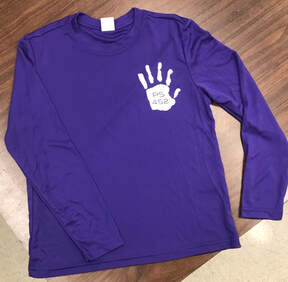 PS 452 Youth Wicking Long Sleeve Tee