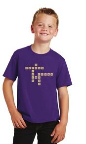 PS 452 Youth Scrabble Logo Tee