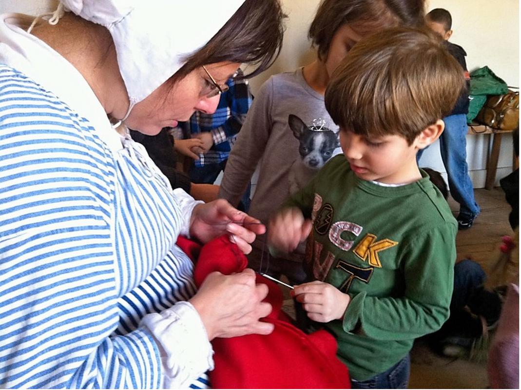 Kindergarteners visit Historic Richmond Town