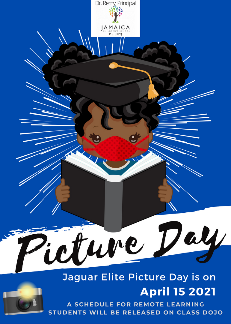 Senior Picture Day is on April 15th.