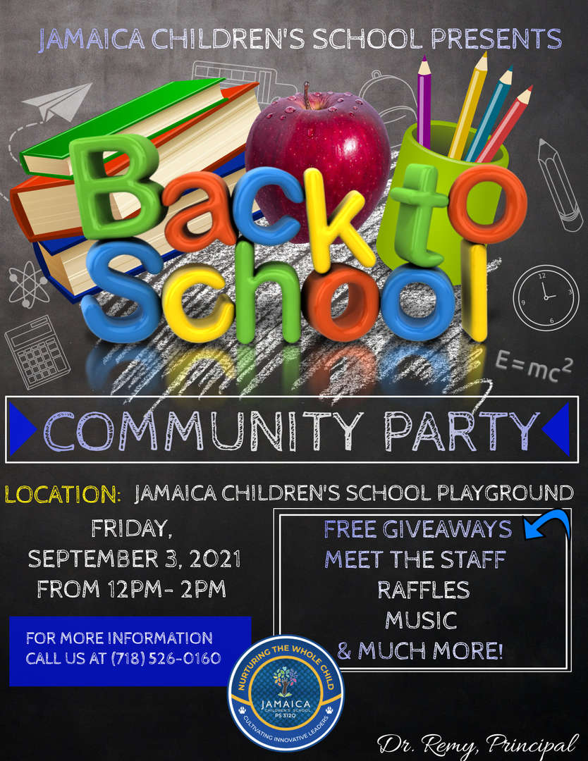 new back to school flyer