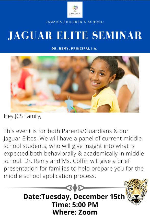 Jaguar Seminar Poster