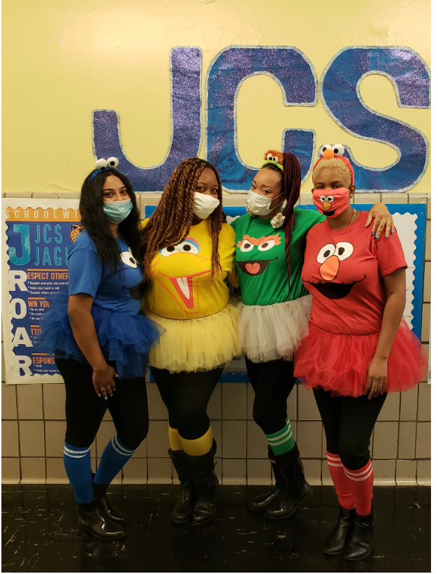 JCS Staff on Character Literacy Day