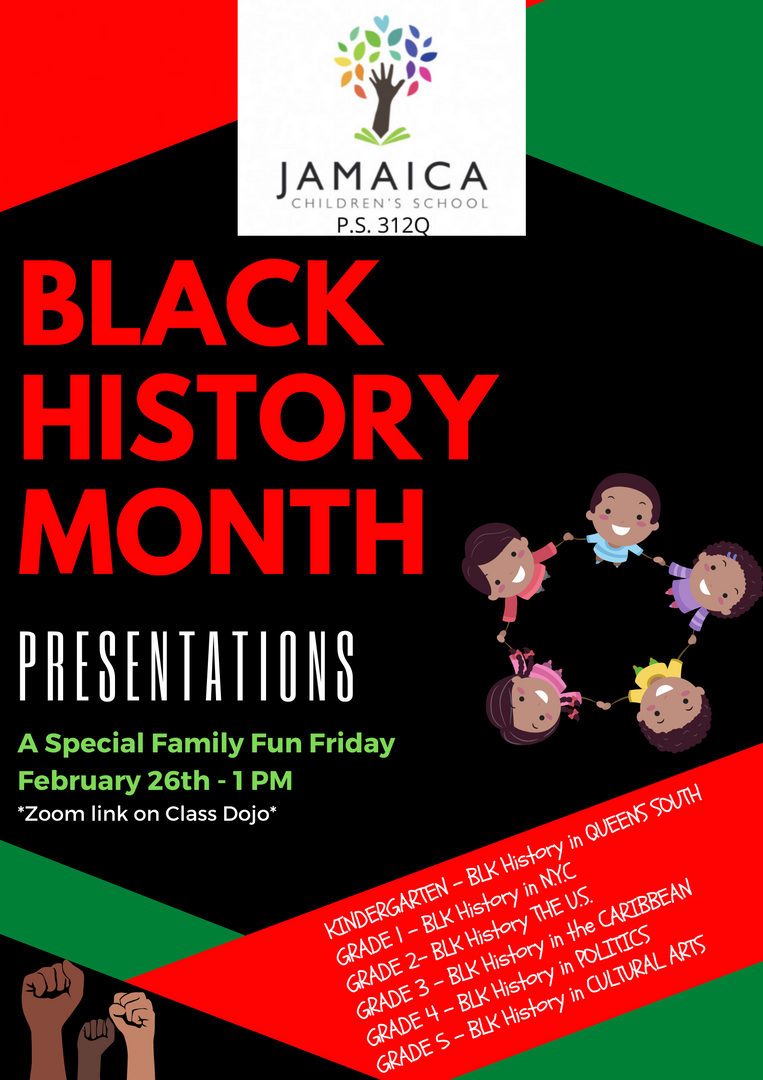 Black History Month Presentations