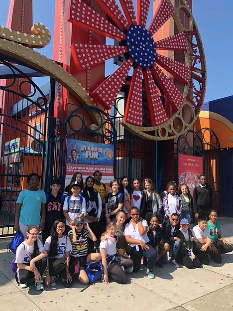 Honor Roll Students at Coney Island
