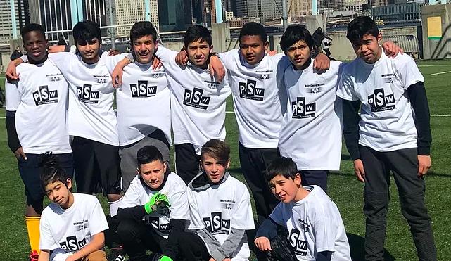 I.S. 381 Boys Soccer Team