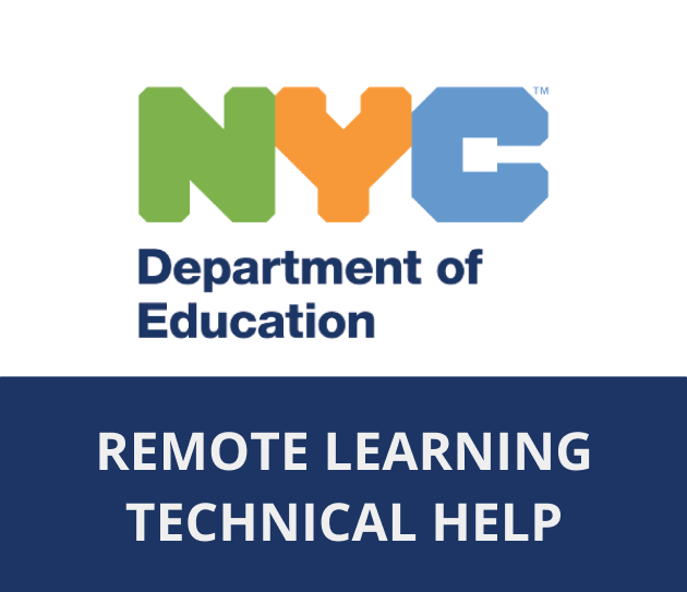 Remote Learning Technical Help Link