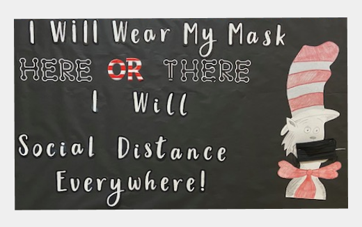 "Cat in the Hat: ""I will wear my mask here or there. I will social distance everywhere!"""