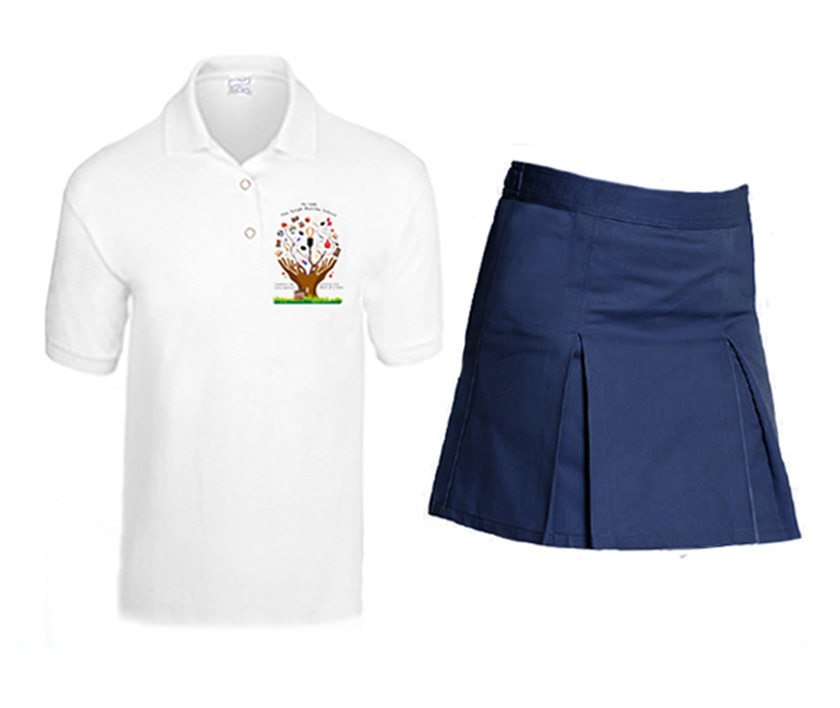 Lower grades (Pre-k - 2) School Uniform