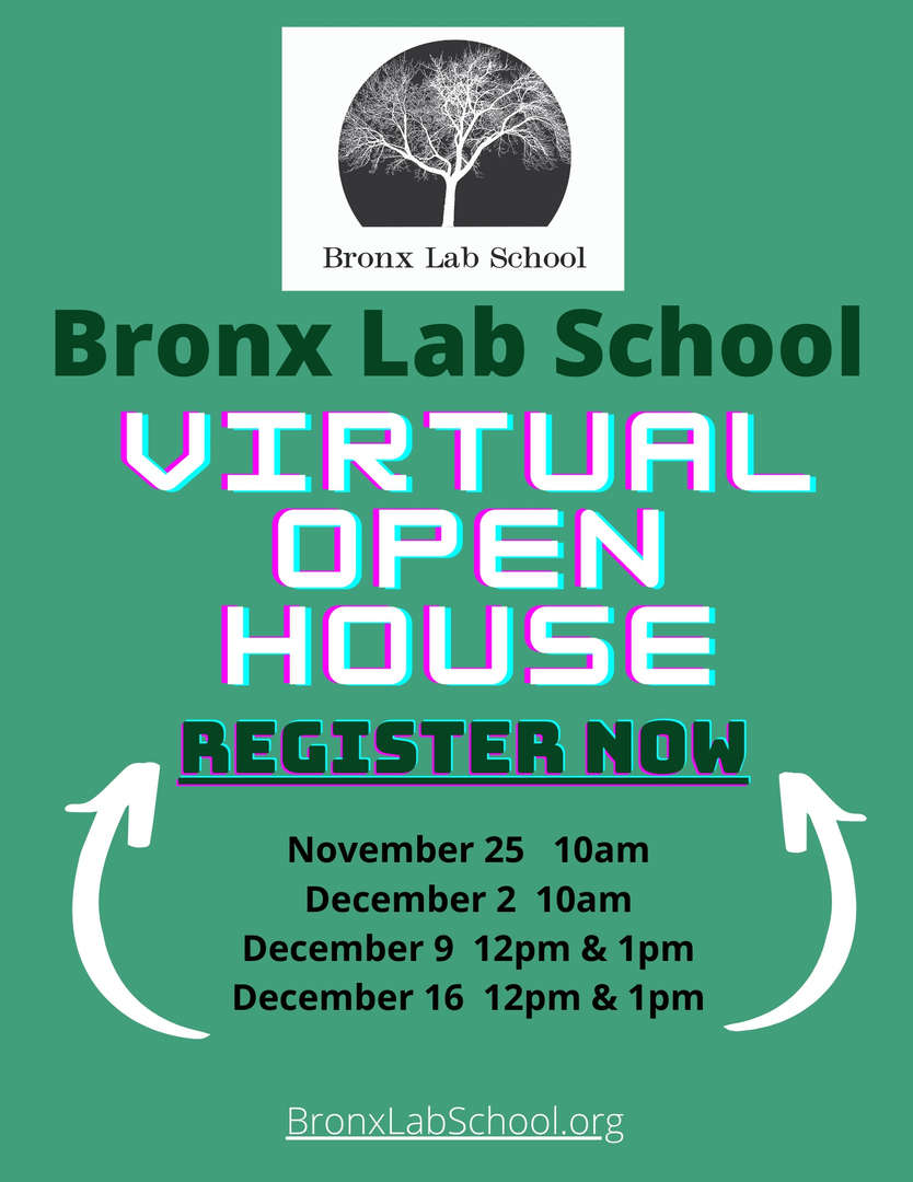 BLS Virtual Open House Poster