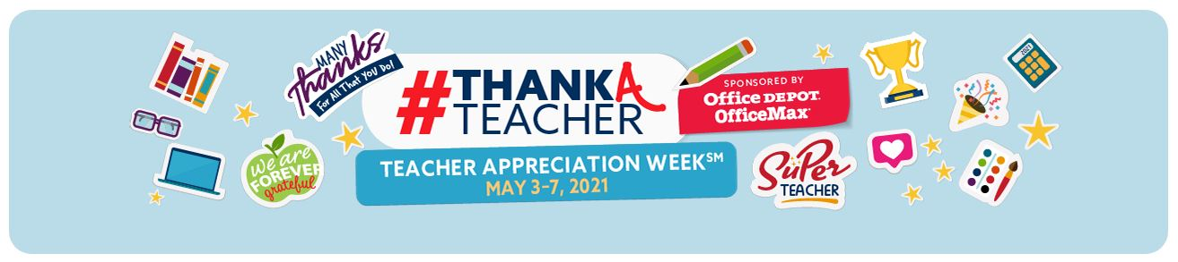 Teacher Appreciation Week Logo