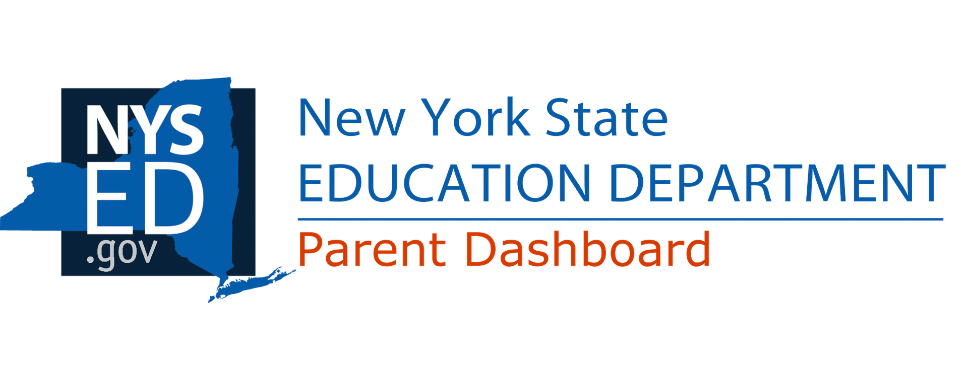 NYS ED Logo  with blue and orange color