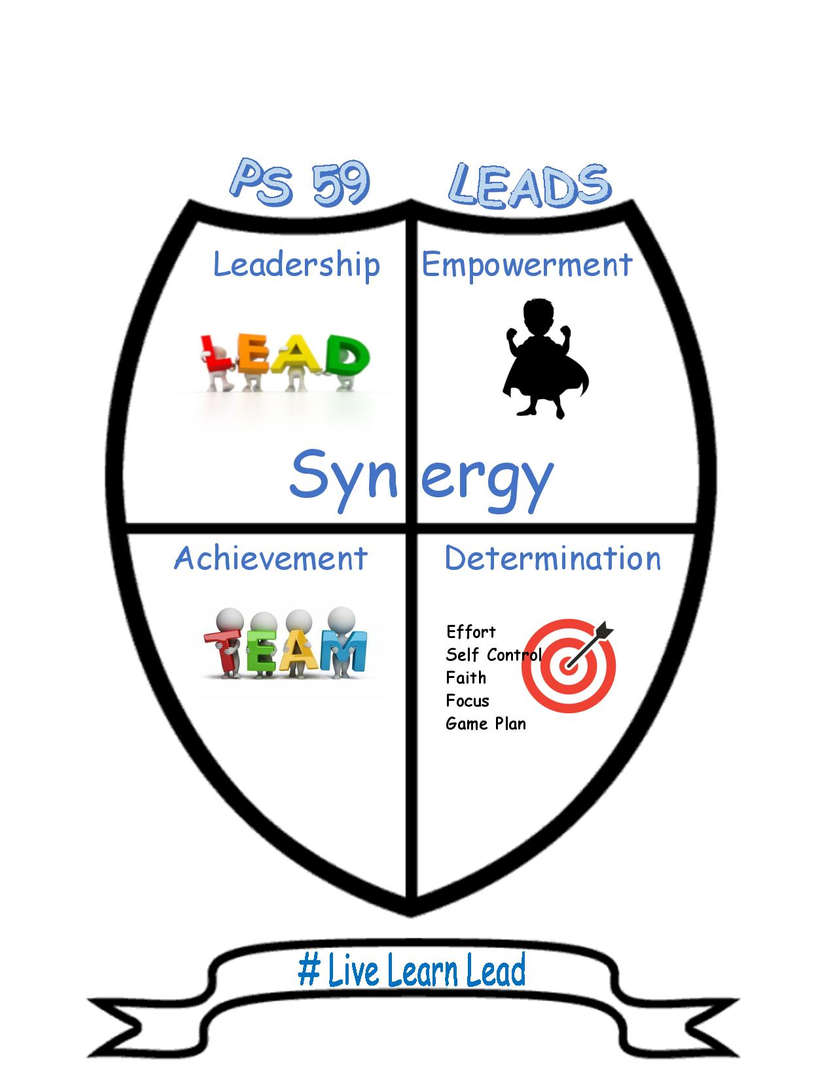 PS 59 Leader In Me Logo
